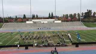 ramona dynasty band and color guard 2014 thesocialnetwork 11 22 14 wba championships