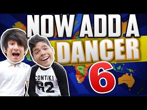 NOW ADD A DANCER 6! (ft. Julien Bam)