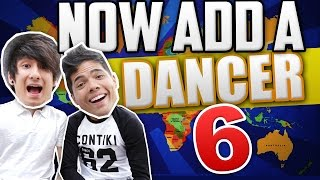 NOW ADD A DANCER 6! (ft. Julien Bam)