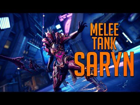 Best Tank Warframe 2020 WARFRAME] Melee Tank SARYN [Juicy Saryn Build 2019]   YouTube