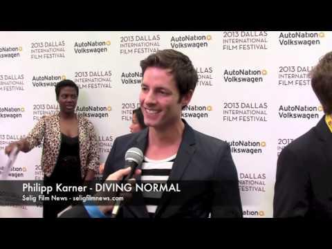 DIFF 2013 Red Carpet: Philipp Karner - DIVING NORMAL