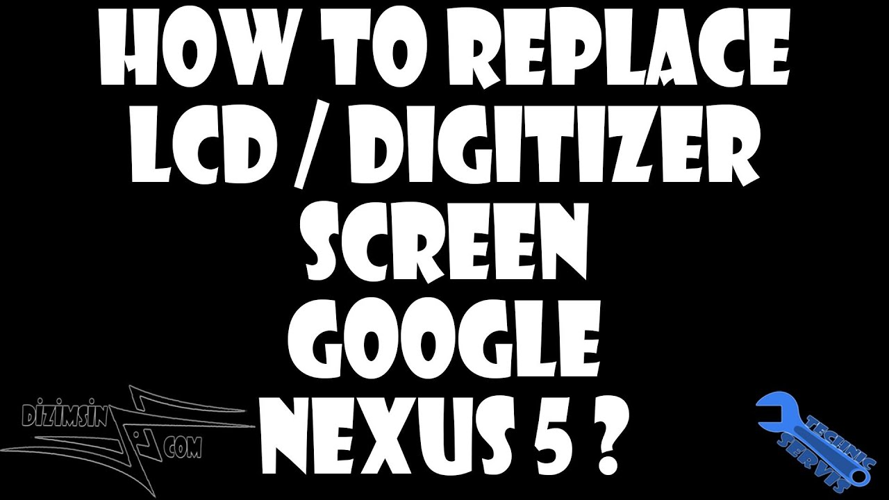 Google Nexus 5 LCD / Digitizer Screen Replacement with Housing  Step by  Step instruction !