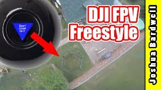 "Can I fly ""real"" freestyle with the DJI digital FPV system?"