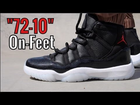 Go check out my Air Jordan 11 Retro 72 10 on feet channel