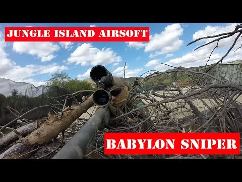 Jungle Island Airsoft Sniper | BABYLON