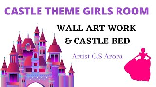 Girls Bedroom Themes Wall Painting & Kids Furniture Mumbai