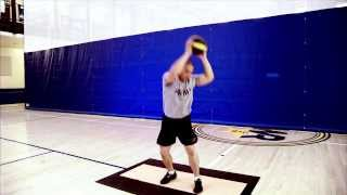 Vertical Core Training: Medicine Ball Slam