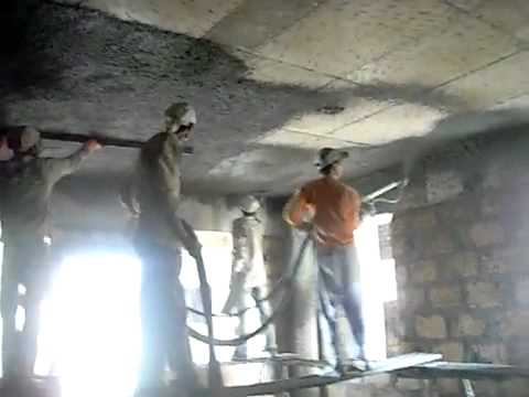 Ps 3000 Ceiling Plastering Youtube