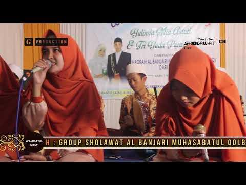 MUHASABATUL QOLBI - YA SAYYIDA ( WALIMATUL URSY ) LIVE BANGKALAN MADURA 2017