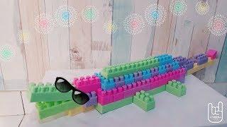 WOWW!! Cara Mudah Membuat BUAYA Dari Lego