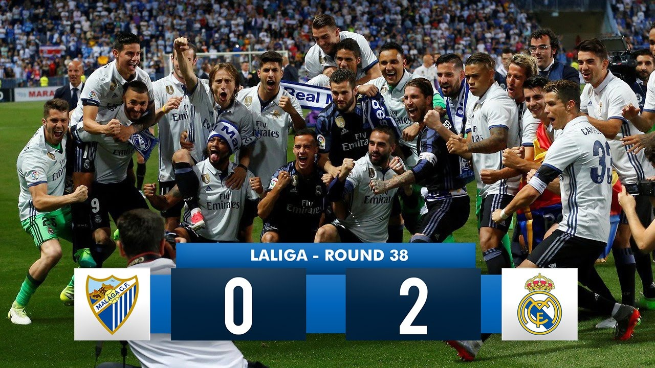 Real Madrid is about to win La Liga again, so out come the ...