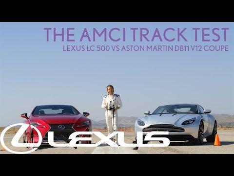 Lexus LC 500 vs Aston Martin DB11 V12 Coupe   Lexus