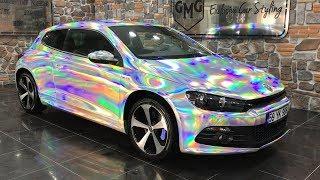 VW Scirocco HOLOGRAM Folyo Kaplama / Wrap ( GMG GARAGE )