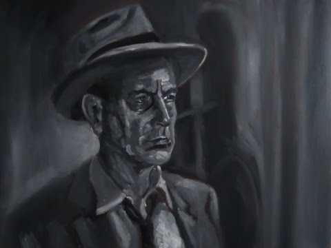 Film Noir - Oil Painting