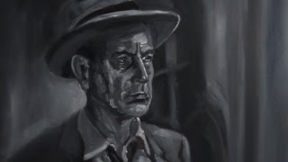 Film Noir - Oil Painting