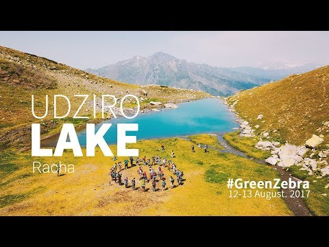 udziro lake 2017 , racha უძირო ტბა 2017, რაჭა - green zebra