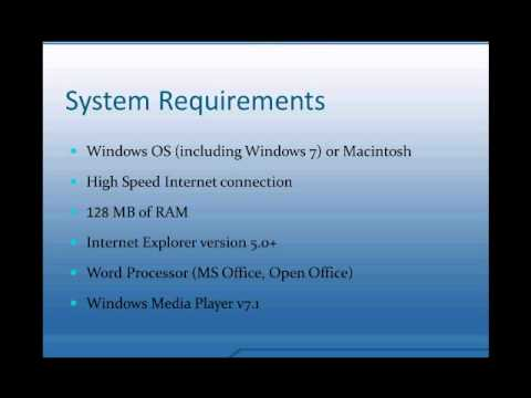 5. Requerimientos Minimos NetTutor