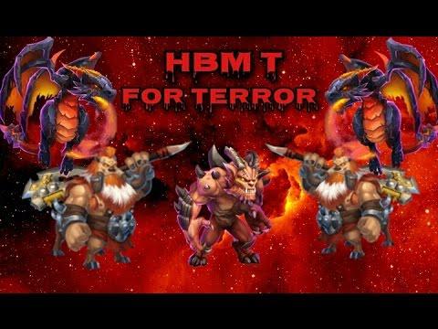 Castle Clash HBM T For Terror!