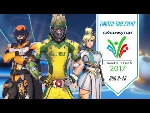 Overwatch Seasonal Event | Summer Games 2017