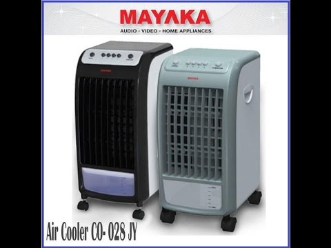 Tutorial Cara Menggunakan Kipas Angin Air Cooler Mayaka Youtube