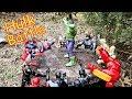 Hulk vs Thor, Iron Man, Captain America, Black Panther, Spider-Man, Superman Full Fight!