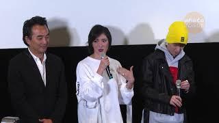 蕭敬騰和導演蔡岳勳、于小惠一起出席戲劇《深夜食堂》映後座談會,除了...