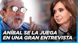 """Cristina gana en primera vuelta. Va a ser la próxima presidenta"" Aníbal Fernández"