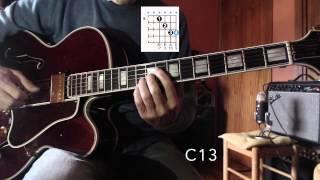 Satin Doll - Jazz Guitar Chord Melody Harmonization