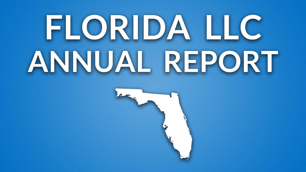 florida annual report