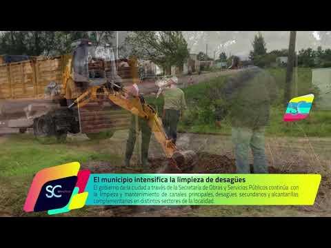 El municipio intensifica la limpieza de desagües