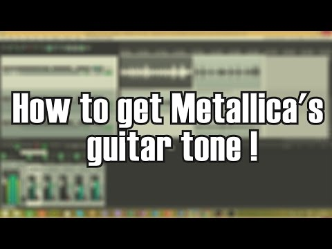 Metallica - Hardwired To Self Destruct -  Guitar Tone Tutorial Using Amps Sims