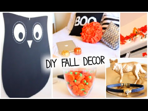 Diy Fall Halloween Room Decor Ways To Decorate 2014