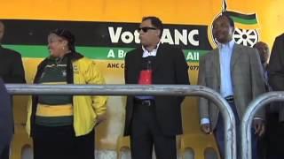 Zuma visits Upington