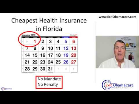 Cheapest Health Insurance In Florida - Florida Individual Health Insurance - Is It Affordable?