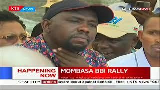 Raila Odinga yet to arrive as Ruto allies already at the Venue #MOMBASA _BBI_ RALLY