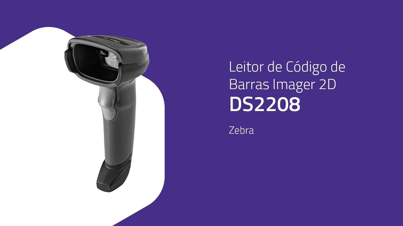 Leitor de Código de Barras 2D Zebra DS2208