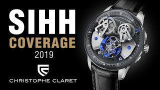 SIHH 2019: Christophe Claret Angelico Watch