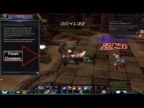Cabal Online Forgotten Temple B1f + All Keys Guide