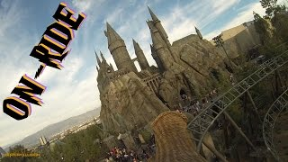 Flight Of The Hippogriff On-ride Front Seat (HD POV) WWoHP Universal Studios Hollywood
