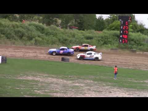 Genesee Speedway Mini Stock Heats 8-24-19