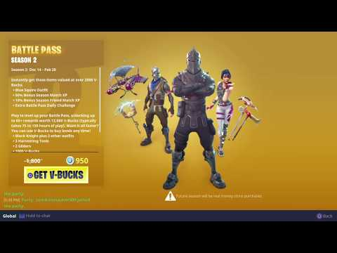 BUYING THE SEASON 2 BATTLE PASS! | FORTNITE BATTLE ROYALE (BATTLE PASS INFO)