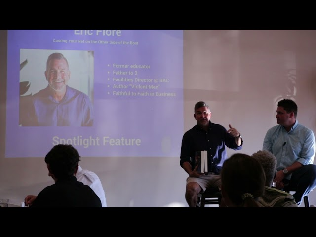 Eric Flore Testimony & Provision to Purpose   Faith in Business Wilmington June 2021