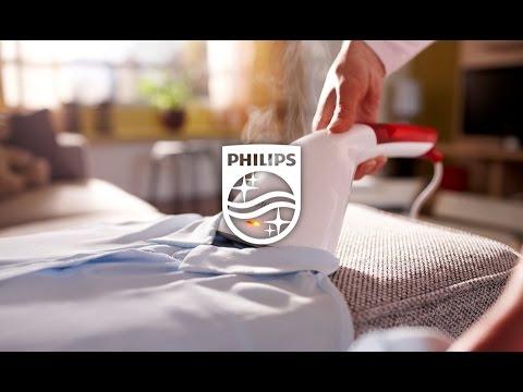 Aparat de calcat vertical cu abur 2 in 1 Philips Steam&Go