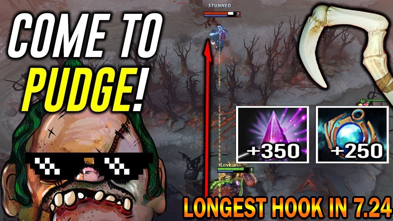 The Longest Hook Of The History Seer Stone Pudge Hook Most Crazy