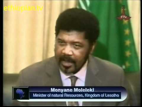 Monyane Moleleki of Lesotho interview with Bezawit Alemu, Clip 1 of 2