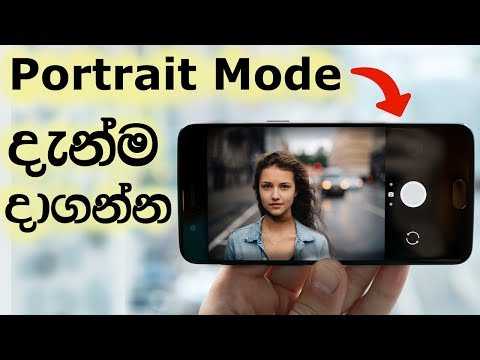 දැන්ම දාගන්න Portrait Mode | Portrait Mode Photos On Any Android Phone