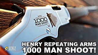 New World Record! Henry Rifles 1000 Man Shoot