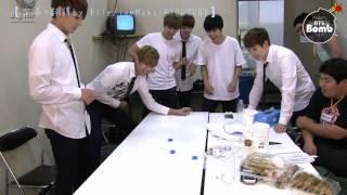 [HD繁中字] BTS Match! (2) hit the bottle top