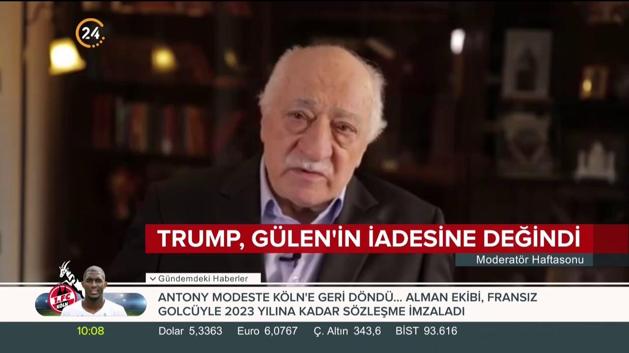 Trump, Gülen'in iadesine değindi
