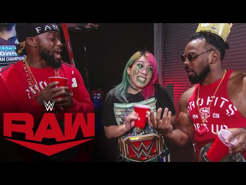 The New Day and Asuka look ahead to Survivor Series: Raw, Oct. 26, 2020